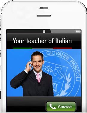 Distance school Italian
