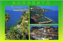 Travel to Italy in Sorrento